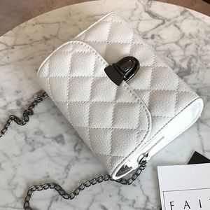 🆕 Quilted white purse